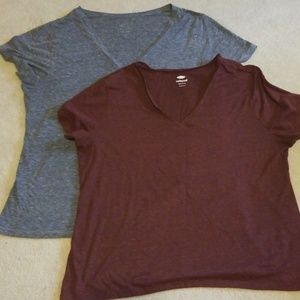 Set if two relaxed Old Navy Tees